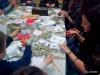izdelovanje voščilnic iz koruznih listov